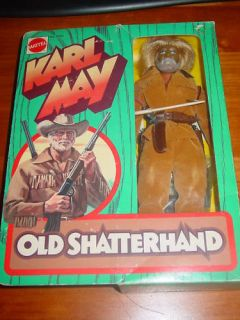 Big Jim Karl May Old Shatterhand  Figure Boxed