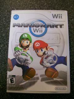 Nintendo Wii Mario Kart Game Wii 2008 Racing