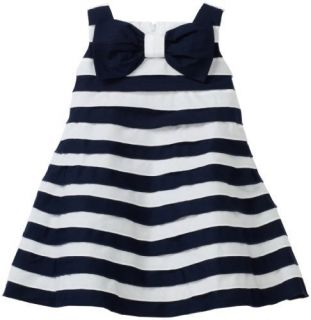 Kate Mack Biscotti Navy Blue Tiered Dress 3T Retail $80