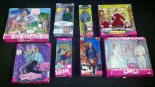 Huge Lot 1989 1999 Barbie Collection w 2 Katina Ice Skate Dolls