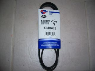 Gates K040465 Serpentine Belt Toyota