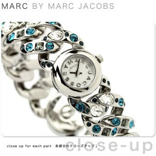 Jacobs Ladies Watch Dexter Glitz Mini Katie Swarovski W Box MBM3143