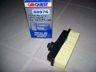 Car Quest 88976 Filter Ford Family Cars Trucks 1986 1992 1995 1996