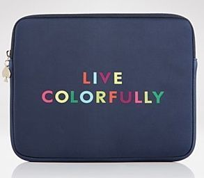 KATE SPADE NEW YORK LIVE COLORFULLY 13 LAPTOP SLEEVE CASE STYLE 0657