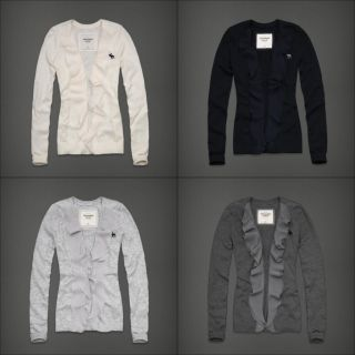 Abercrombie Fitch Women Keegan Cardigan Sweater Shirt 2011 New