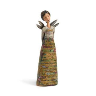 Artist Kelly Rae Roberts Collection Mama Angel Figure Demdaco