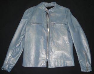 1970s Vintage Kehoe Cafe Racer Motorcycle Jacket