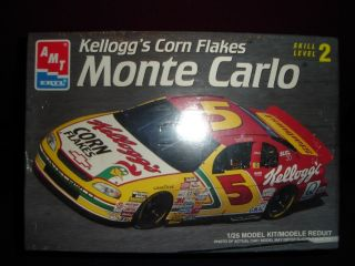 NEW Nascar 5 1997 Kelloggs Corn Flakes Chevy Monte Carlo Car Model Kit
