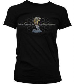 Ford Cobra Mustang Classic Car Tee Junior Girls T Shirt