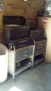 Vintage cornwell tool boxes