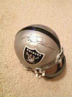 Ken Stabler Signed Oakland Raiders Mini Football Helmet