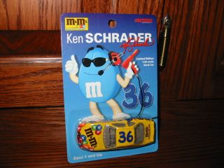 NASCAR Ken Schrader M Ms Racing Team Stock Car 1 64