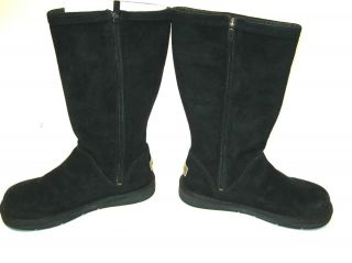New UGG Womens Kenly Boots Black Size 8