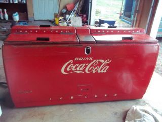 Vintage Coca Cola Coke Cooler Westinghouse WD22