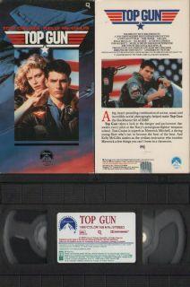 Top Gun VHS 1996 Kelly McGillis Tom Cruise