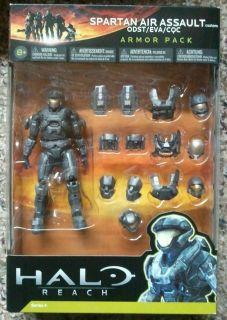 McFarlane Halo Universe Reach Spartan Air Assault ODST EVA CQC Armor
