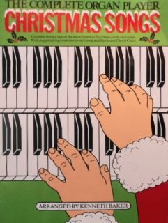 Easy Christmas Songs for Organ Kenneth Baker 1983 48PGS