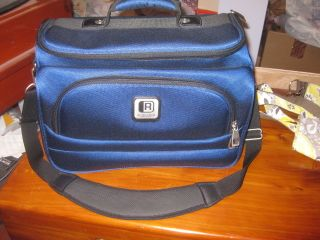 Blue Kenneth Cole Reaction Carry on Luggage Bag
