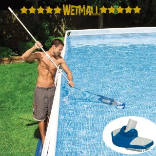 Intex Deluxe Swimming Pool Cleaning Maintenance Kit Cleaner with