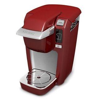 Keurig Single Cup Mini Brewer Red