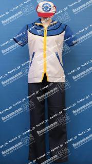 Pokemon New Ash Ketchum Cosplay Costume Size M