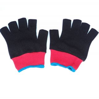 New Ash Ketchum Black and White Trainer Costume Gloves Pokemon