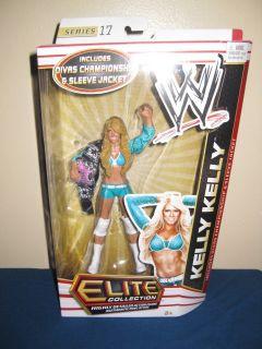 WWE Mattel Kelly Kelly Series 17 Diva Kevin Nash 16 WCW Mankind Diesel