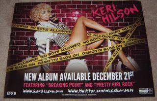Keri Hilson Promotional Poster No Boys Allowed
