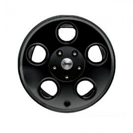 2007 2012 Jeep Wrangler Mopar Wheel 17x8 5 Classic 5 Hole Black