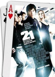 21 Orig 27x40 D s Movie Poster Kevin Spacey Blackjack