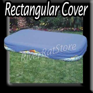 Intex Rectangular Swimming Pool Cover Rectangle Wet Set