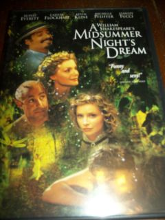 Nights Dream DVD 1999 Widescreen Kevin Kline Michelle Pfeiffer