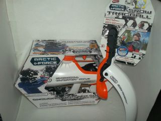 Wham O Arctic Force Snowball Blaster Target Game Snow Tracball Thrower