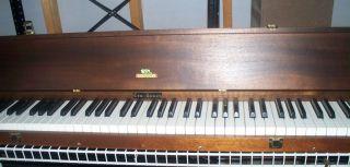 Pratt Tru Touch Silent Piano Practice Keyboard 88 Key Wood Case Nice