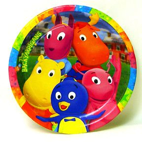 Nick Jr Backyardigans Paper Dinner Plates Birthday Party Tableware