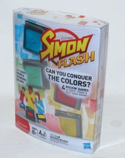 Hasbro Simon Flash Electronic Kids Play Toy Game Flash Card