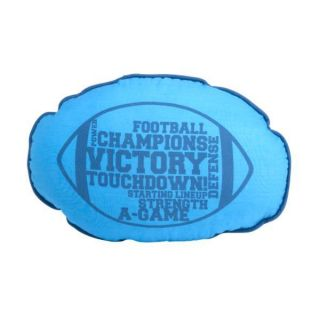 Sports Fan Football Shaped Kids Pillow Decorative Boys