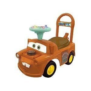 New Activity Ride on Disney Pixar Car by Kiddieland Gift Toy