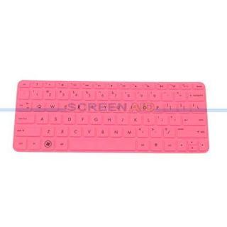 Keyboard Skin Cover Protector HP Mini 210 Mini 2102 Red