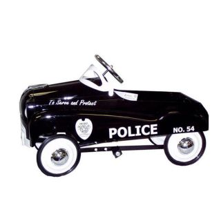 Police Pedal Car Kids Childrens Outdoor Riding Ride On Vehicle Toy
