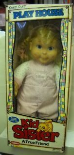 377 RARE Vintage Playskool Kid Sister Doll