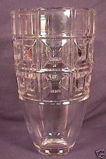 Mint Large Signed Rosenthal Crystal Art Glass Vase
