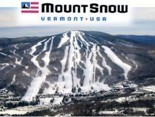 Mount Snow Ski Resort Lift Ticket Snowboard Vermont Killington