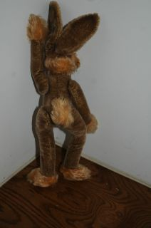 Steiff 16 5 inch Bunny with A Boo Boo Nose Jointed Steiff Rabbit