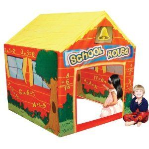 Tent House Tent School House Play Tent Kids Hide Play