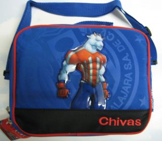 Soccer FMF Insulated Lunch Bags Box Pail Boys Kids Case Gifts