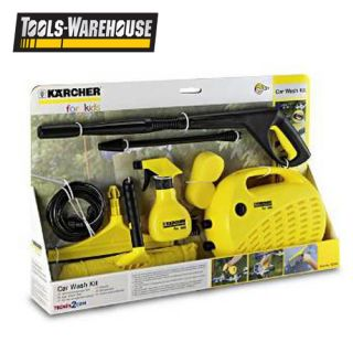 Genuine Karcher for Kids High Pressure Washer Water Kit Car Bike