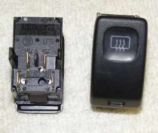 VW Golf Jetta Rear Window Defrost Switch MK2 New 2 Pcs 191 959 621 B