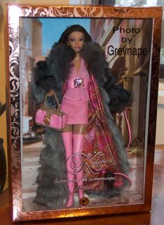 Kimora Lee Simmons Barbie Doll NFRB Baby Phat Founder and Designer