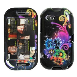 Sharp Kin 2 Two COLORFUL SNOWFLAKES Faceplate Protector Phone Case